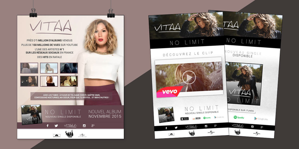 Vitaa - Promo - Newsletter